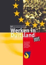 40 vragen werken in Duitsland - bei der Euregio Rhein-Waal