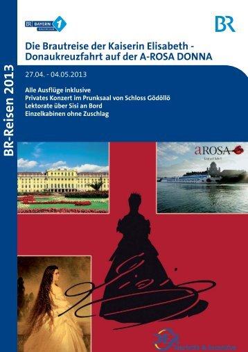 Donaukreuzfahrt auf der A-ROSA DONNA - Bayern 1 Radioclub