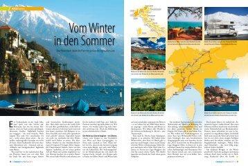 Eine Reise durch Italien ins Piemont und an die Ligurische Küste.