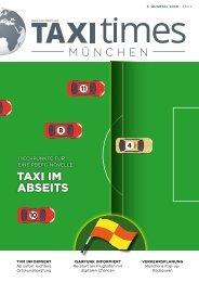 Taxi Times München - 3. Quartal 2020