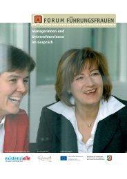 Managerinnen und Unternehmerinnen im Gespräch - chefin-online.de