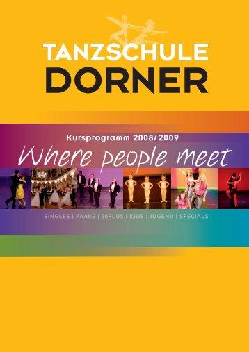 Specials - Tanzschule Dorner
