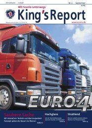 Saubere Sache - Scania