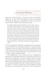 1. Die Reise nach Würzburg - C.H. Beck