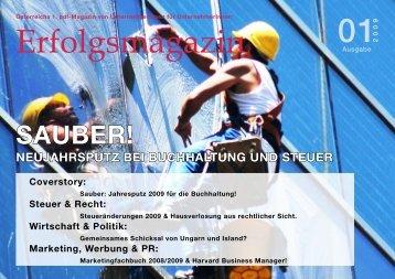 sauber! - Unternehmerweb