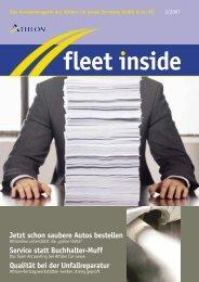 Jetzt schon saubere Autos bestellen Service statt ... - Athlon Car Lease