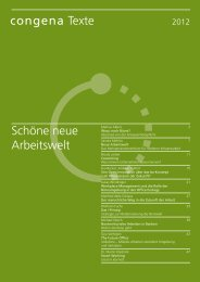 congena Texte Schöne neue Arbeitswelt - congena GmbH