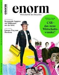 dazu im neuen Heft 01/2011 - Enorm