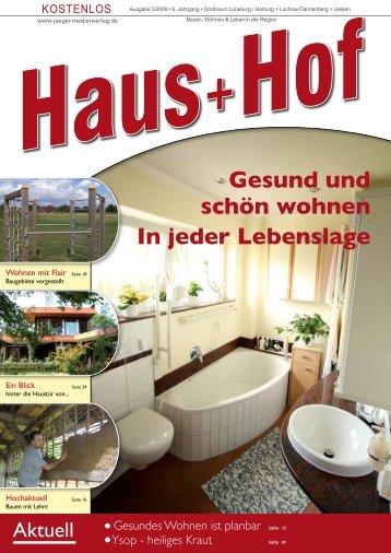 Gesund und schön wohnen In jeder Lebenslage - Jäger Medienverlag