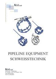PIPELINE EQUIPMENT SCHWEISSTECHNIK - Nelke GmbH