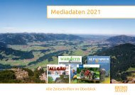 Mediadaten - Edition Allgaeu - Web