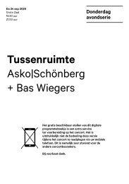2020 09 24 Tussenruimte - Asko|Schönberg + Bas Wiegers