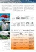 Schöne Schattenseiten. Collection 2008-2012 - KLAIBER Markisen - Seite 2