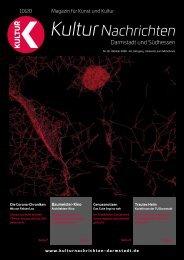 Kulturnachrichten für Darmstadt und Südhessen - 10-2020