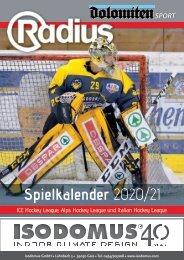 Hockey Spielkalender 2020/21