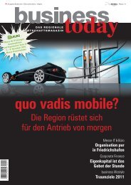 Ausgabe 03/2010 Bodensee/Oberschwaben/Allgäu - business today