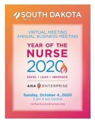 South Dakota Yearbook - September 2020