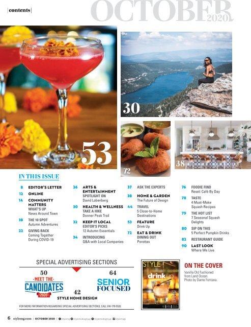 Style Magazine October 2020