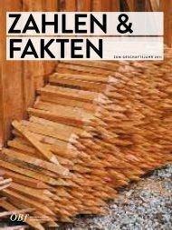 Facts & Figures 2011 - Österreichische Bundesforste AG