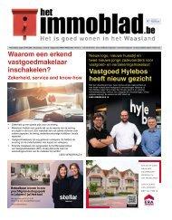 Het Immoblad van 29 september 2020