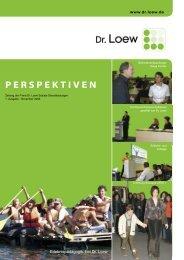 PERSPEKTIVEN - Dr. Loew