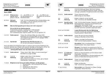 2009 - PSV Elbe Dresden eV -Sektion Wandern und Bergsteigen