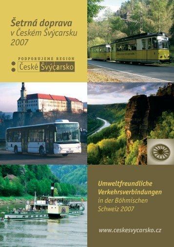 Autobus / Bus - České Švýcarsko, o.p.s.