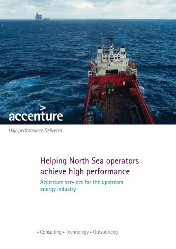 Helping North Sea operators achieve high performance