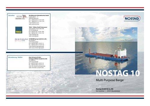 NOSTAG 10 - Hans Schramm & Sohn Schleppschifffahrt