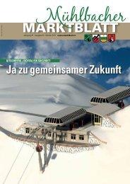 Mühlbacher Marktblatt 03/2011 (2,92 MB)