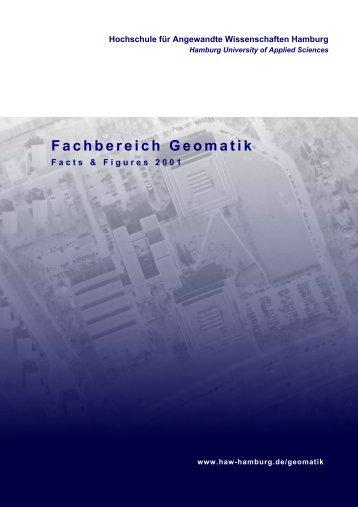 Fachbereich Geomatik - HafenCity Universität Hamburg