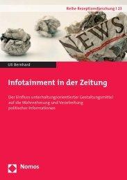 Infotainment in der Zeitung - Zum Nomos-Shop