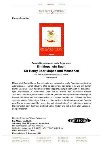 Ein Mops, ein Buch. Sir Henry über Möpse und ... - Politycki & Partner