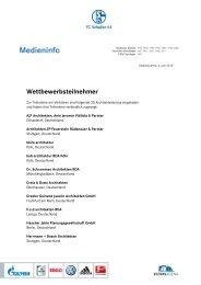 Wettbewerbsteilnehmer - FC Schalke 04
