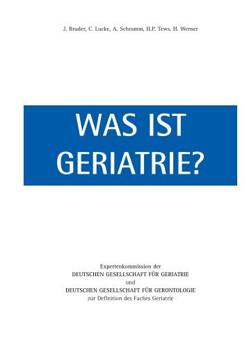 GERIATRIE DEFINITION EBOOK DOWNLOAD