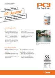 Epoxi-Beschichtung PCI Apoten - PCI-Augsburg GmbH
