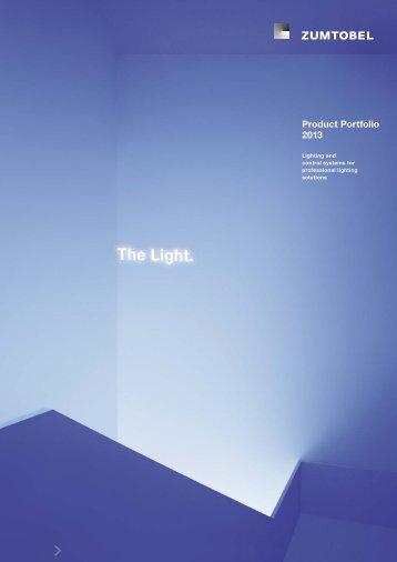 Product Portfolio 2013 - Zumtobel