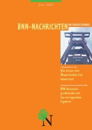 bnn-nachrichtennaturkosthandel - BNN Herstellung und Handel eV