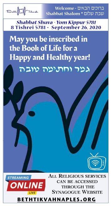 Bulletin Shabbat Shuva