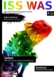 Farben - Studentenwerk Frankfurt am Main