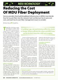 Though - Broadband Communities Magazine