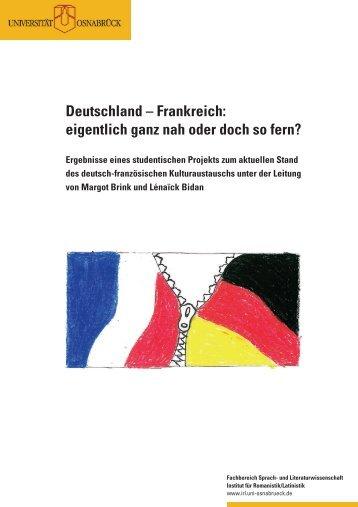 II. Deutsch-französischer Austausch im Bildungssektor - Institut für ...
