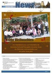 Die Mitarbeiterinnen und Mitarbeiter der Deutschen Botschaft ...