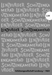Feldschiessen 2009 - SG Lenzburg