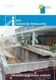 vereine - Gemeinde Mettauertal