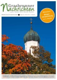 Grasbrunner Nachrichten Oktober 2020