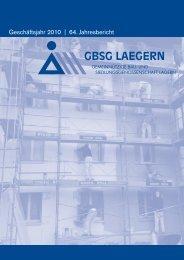 Jahresbericht 2010 - Lägern Wohnen