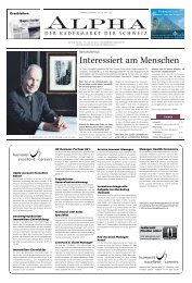 m/w - E-Paper Anmeldung - Tages-Anzeiger