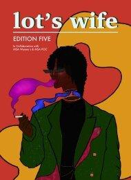 Lot's Wife - MSA Women's & POC Edition Five