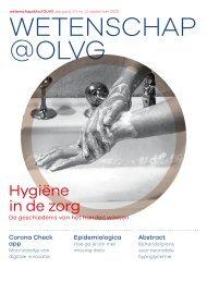 Wetenschap@OLVG 2020 #2 september